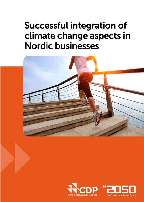Successful integration of climate change aspects in Nordic businesses